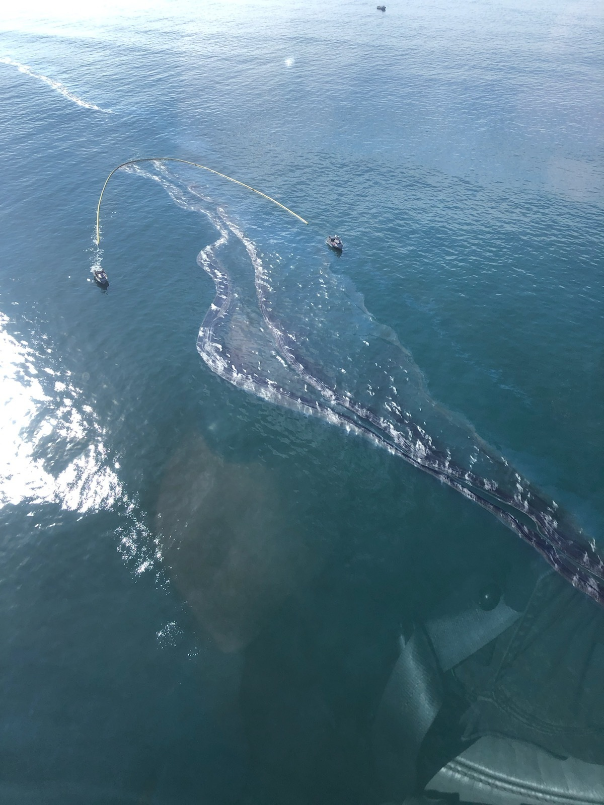 Unified command continues response to oil spill off Newport Beach