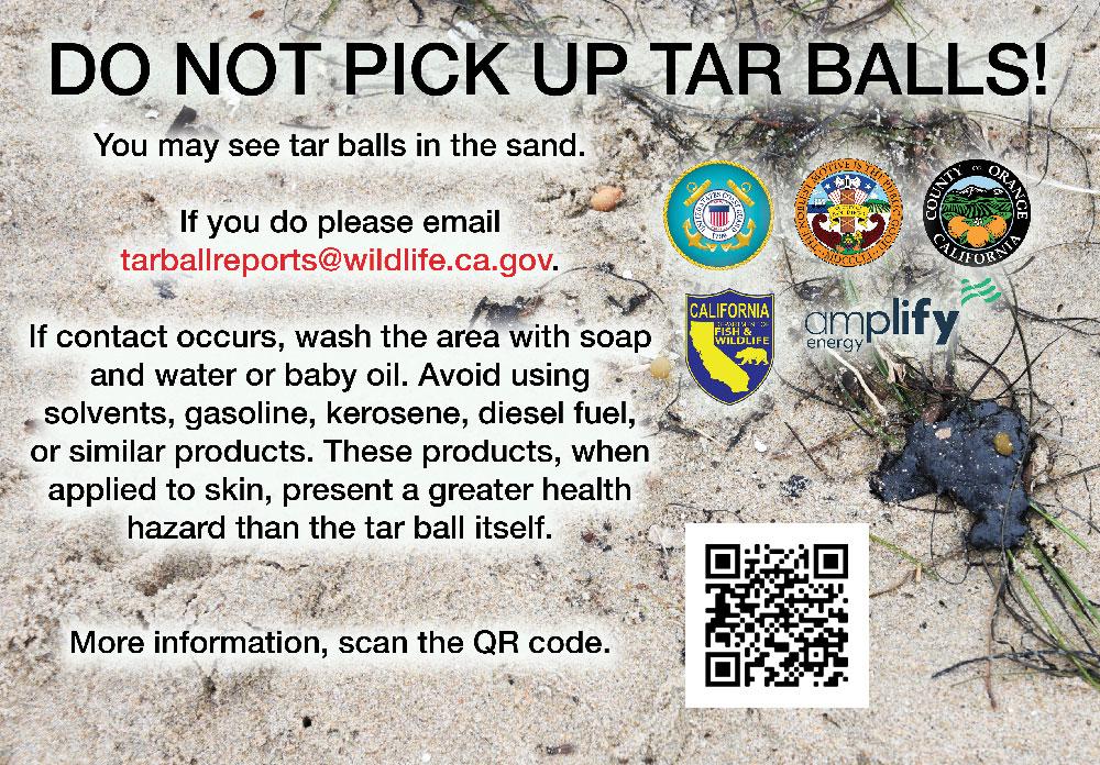 Tar ball info flyer