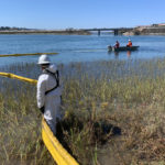 UPDATE 12: The Unified Command continues its response Monday to the coastal oil spill in Orange and San Diego Counties